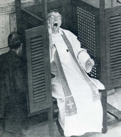 Eccles is saved: QUAERITUR: Should I wake the priest?